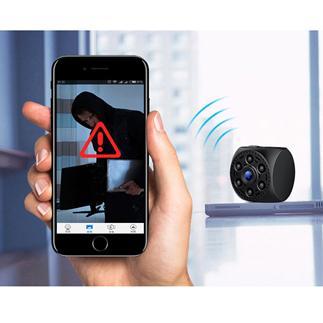 A10 高æ?§èƒ½ 超小型ミニカメラ 高画質赤外線 動体検çŸ\  WiFi監視カメラ IOS/Android 対応