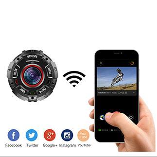 防水腕時計カメラ