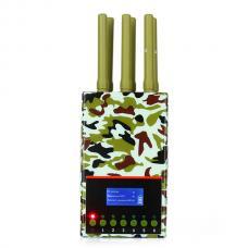 6アンテナ 電波信号帯電波妨害 CDMA GSM DCS PHS PCS 3G 4G GPS/LOJACK 電波 帯対応